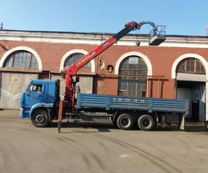 Манипулятор Камаз грузоподъемностью 10 тонн