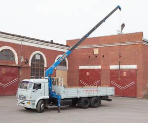 Камаз с КМУ 8 тонн